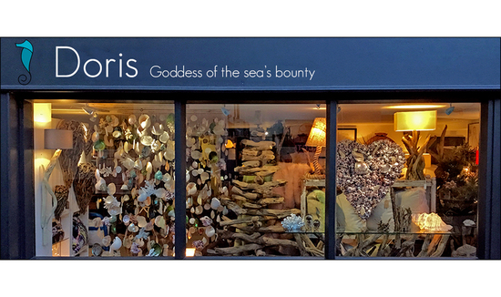 Doris Brixham Shop Front