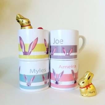 personalised easter mugs