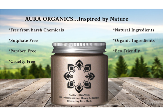 Aura organics natural skincare inspired by nature