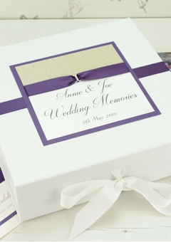 Elegant wedding gifts and keepsakes