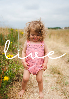 'Live' Mummy is the Best Romper in Pink