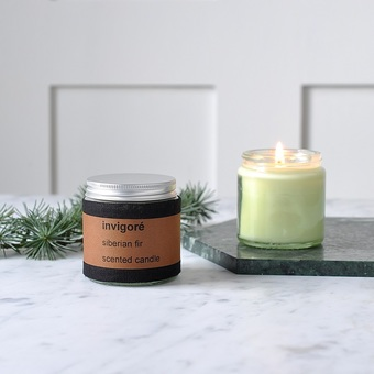 Invigoré Siberian Fir Scented Candle