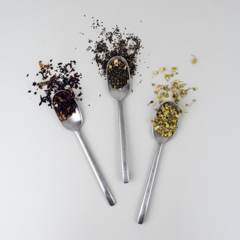We offer a delicious selection of loose leaf teas