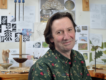 Ed Glover, designer and pewter maker