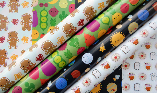 kawaii gift wrapping