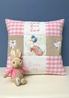 Beatrix Potter Alphabet Cushion