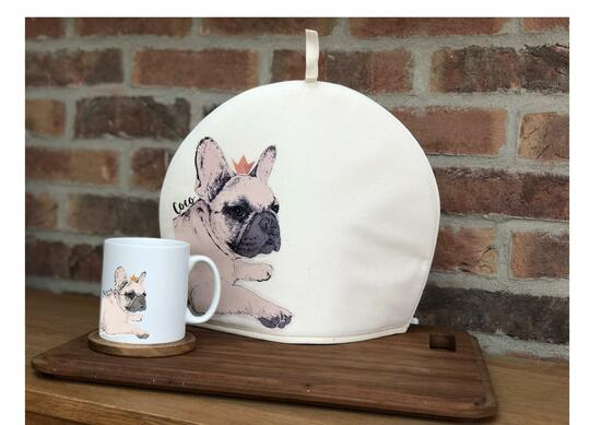 personalised Illustrated Dog Cosy