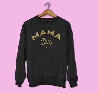 Glitter Mama Club jumper