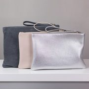 Leather and Suede Clutch Bags