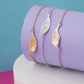 Feather Angel Wing Bracelets