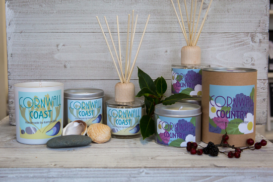Coast and Country candles and room diffusers
