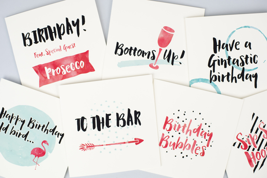 Greeting cards by Bonnie Blackbird