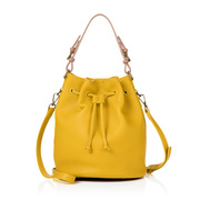 The Islington bucket bag, Mustard