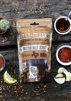 Billy Franks Texan BBQ Beef Jerky
