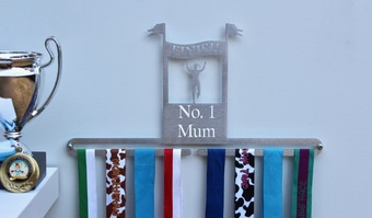 Personalised Finish Line Medal Hanger