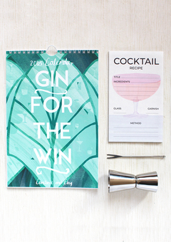 Constance and Clay Gin for the Win Calendar