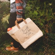 Be Wild and Free Mini Jute Bag