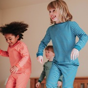organic cotton stripe pyjamas