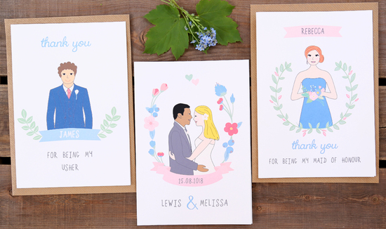personalised love cards