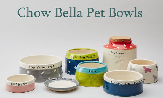 Personalised Dog and Cat Bowls