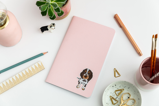 bespoke notebook by Florence and Ottie