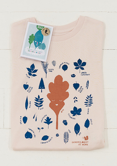Dendrologist tshirt and little pocket field guide