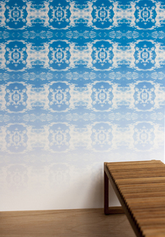 Cloud Rococo Ombre Wallpaper by Identity Papers