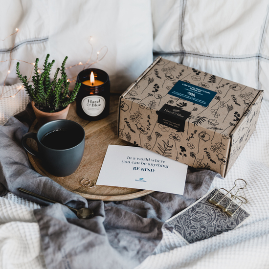 Hazel and Blue calm and cosy candle making kit