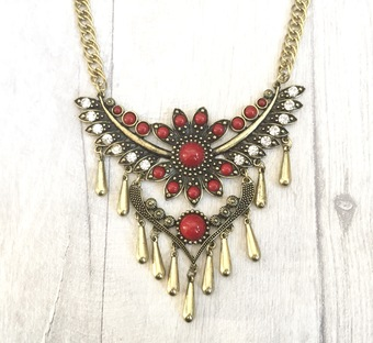 Dangling Tribal Choker