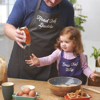 Personalised Apron Set