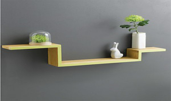 Oak wall shelf by childs and co Cumbria