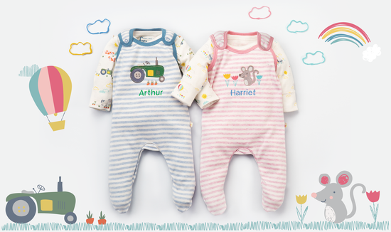 Frugi personalised pyjamas