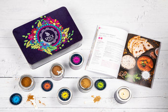 Make Your Own Curry Kit - the perfect Christmas Gift