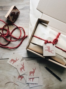 Beautifully wrapped parcels