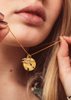 Gold Constellation Zodiac Necklace