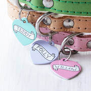 we love to create personalised pet id tags