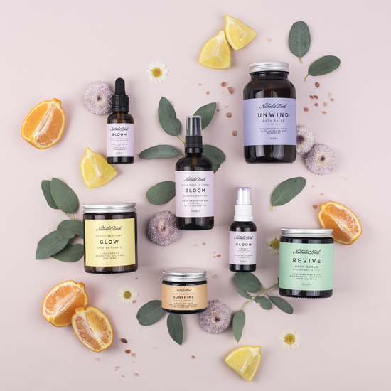 Organic and natural skincare and candles