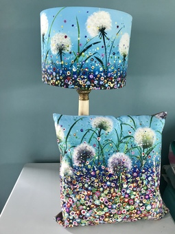 lampshades to match cushions coming soon