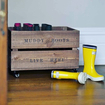 Personalised 'Crates on Skates'