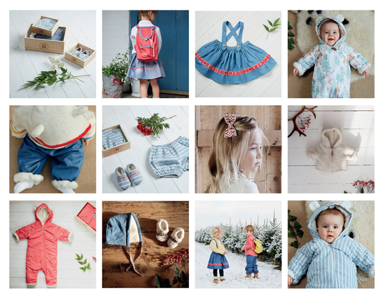 Nordic inspired Baby and Childrenswear with natural and organic cottons.