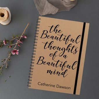 Beautiful thoughts Notebook