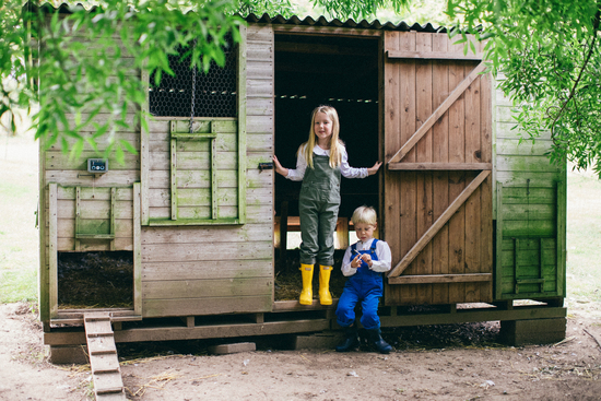 Dungarees and Dresses for all their little adventures