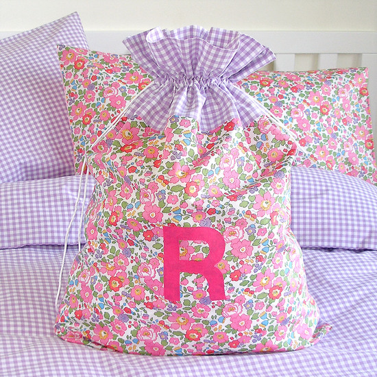 Liberty and Gingham Bed Linen Set