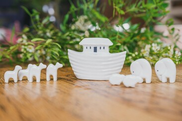 Porcelain Noah Ark Set