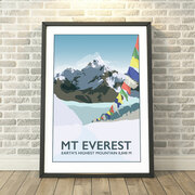 Mount Everest, Base Camp Print