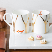 Quinn the Fox Mugs