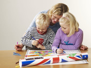 Family Fun Time Colouring