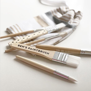 Personalised Wooden Paintbrushes
