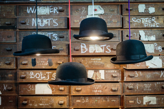 Charles bowler hat lights