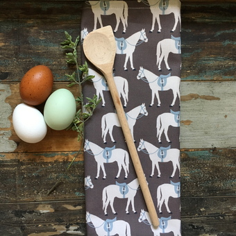 Fergie Horse design kitchen textiles